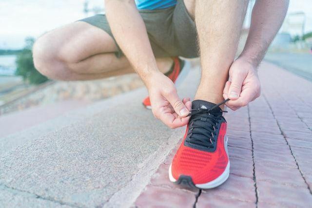 Gute Laune durch Ablenkung in Form von Sport oder Spaziergängen